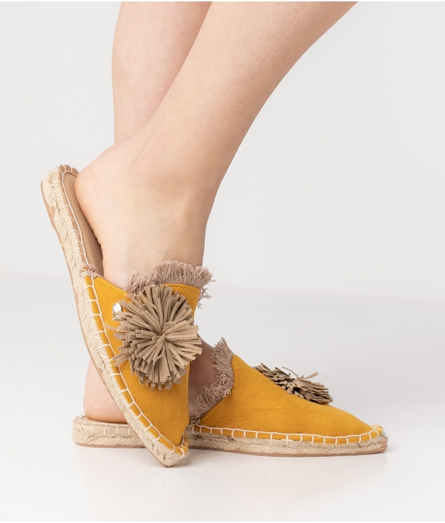 Espadrile Idris - Yellow