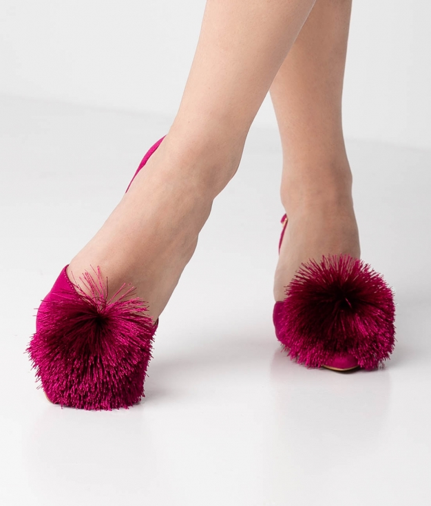 Heels Shoes Liria - Fuchsia