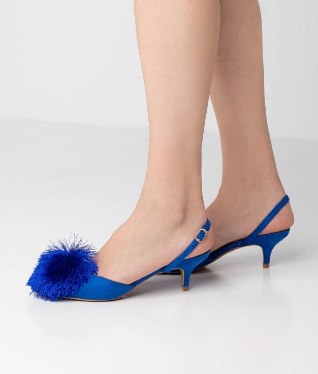 Sapato De Salto Liria - Azul Klein