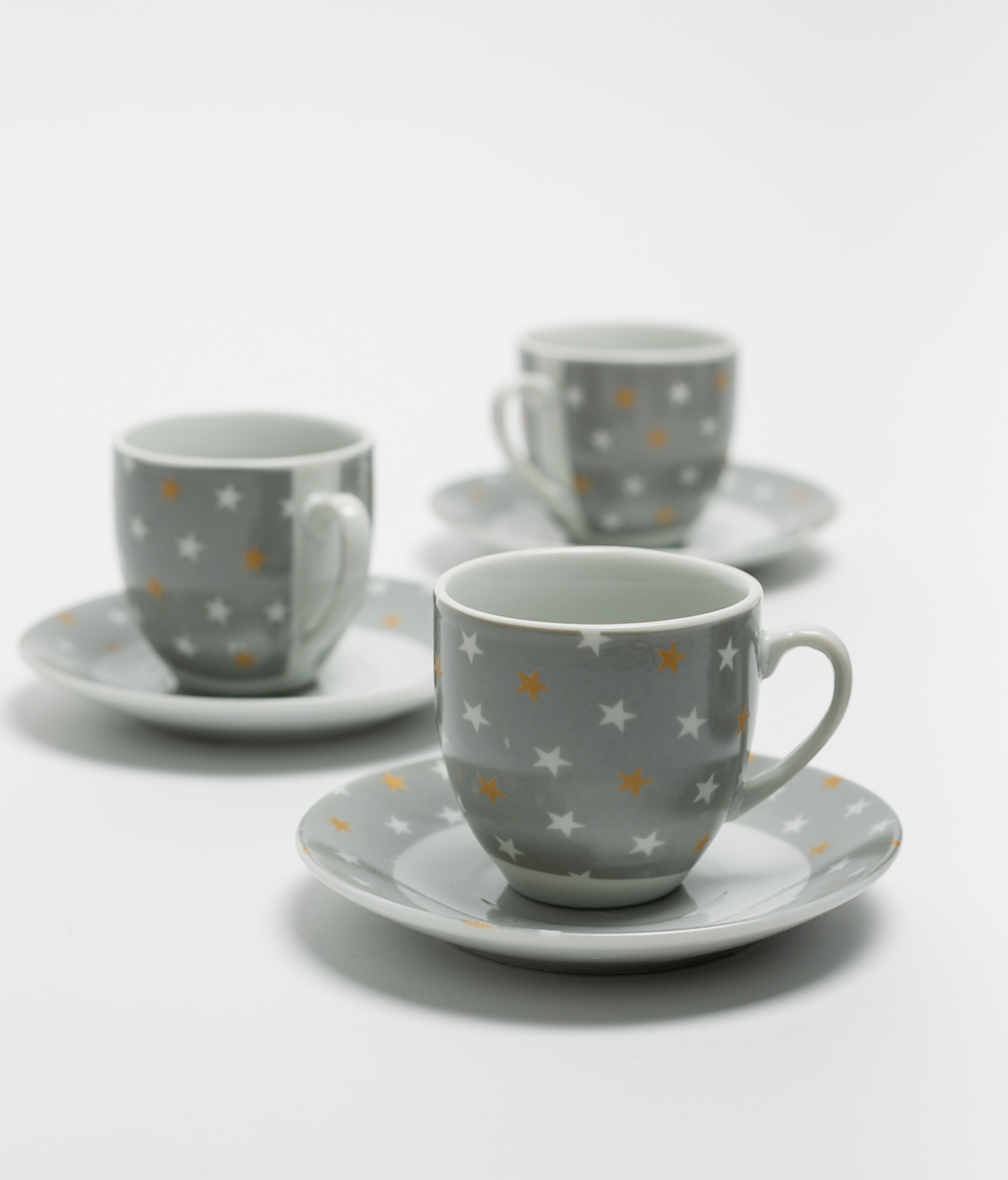 JUEGO DE CAFÉ TROPI - GREY