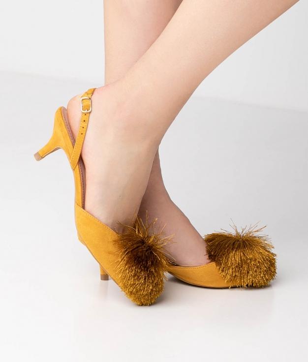 Heels Shoes Liria - Yellow