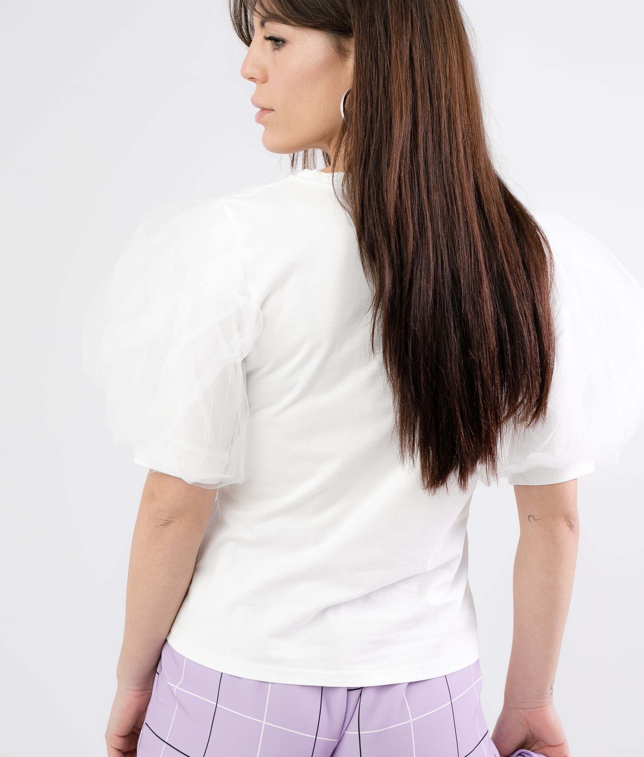 BIRIS T-SHIRT - WHITE
