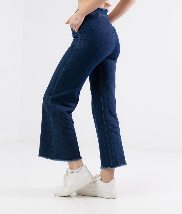 Lumbus trousers - Dark denim