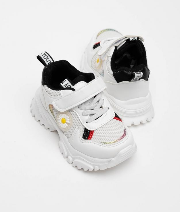 SNEAKERS LELE Niña - WHITE/BLACK