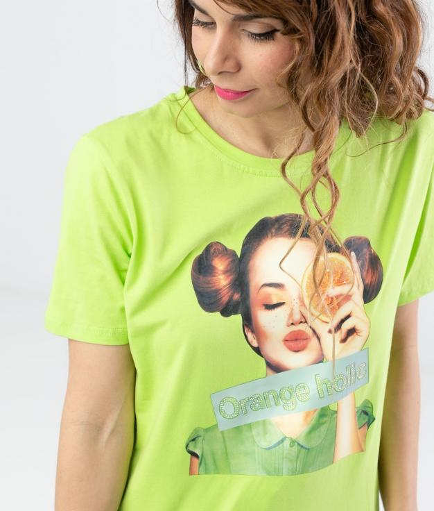 Camiseta Rinpus - Verde
