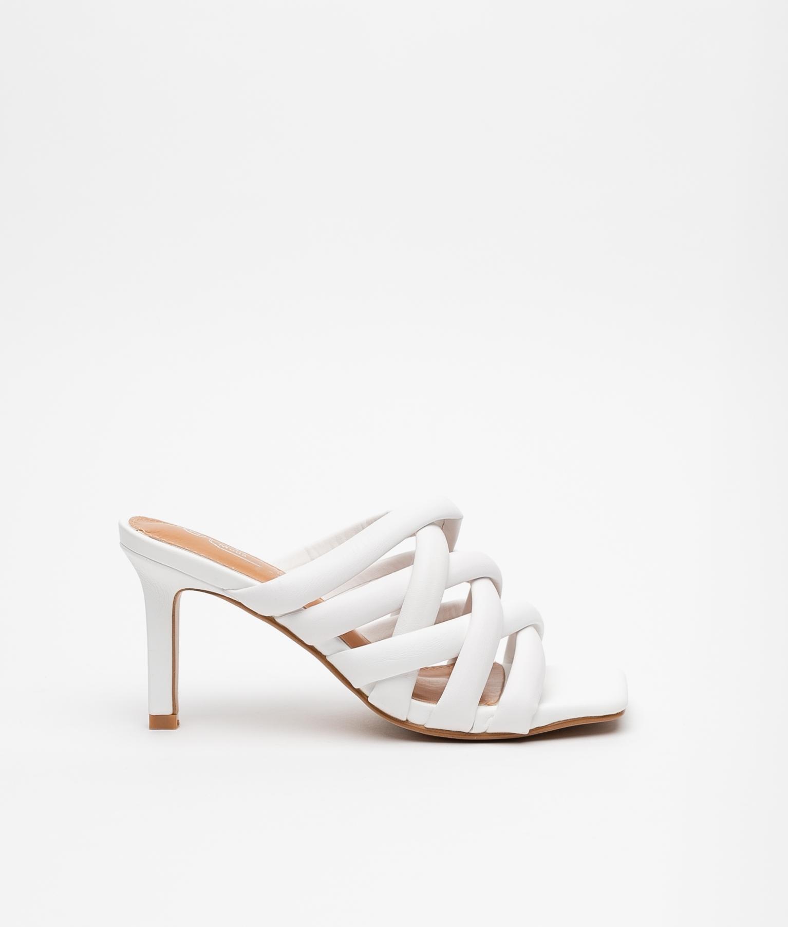 Sandalo Alto Milay - Bianco