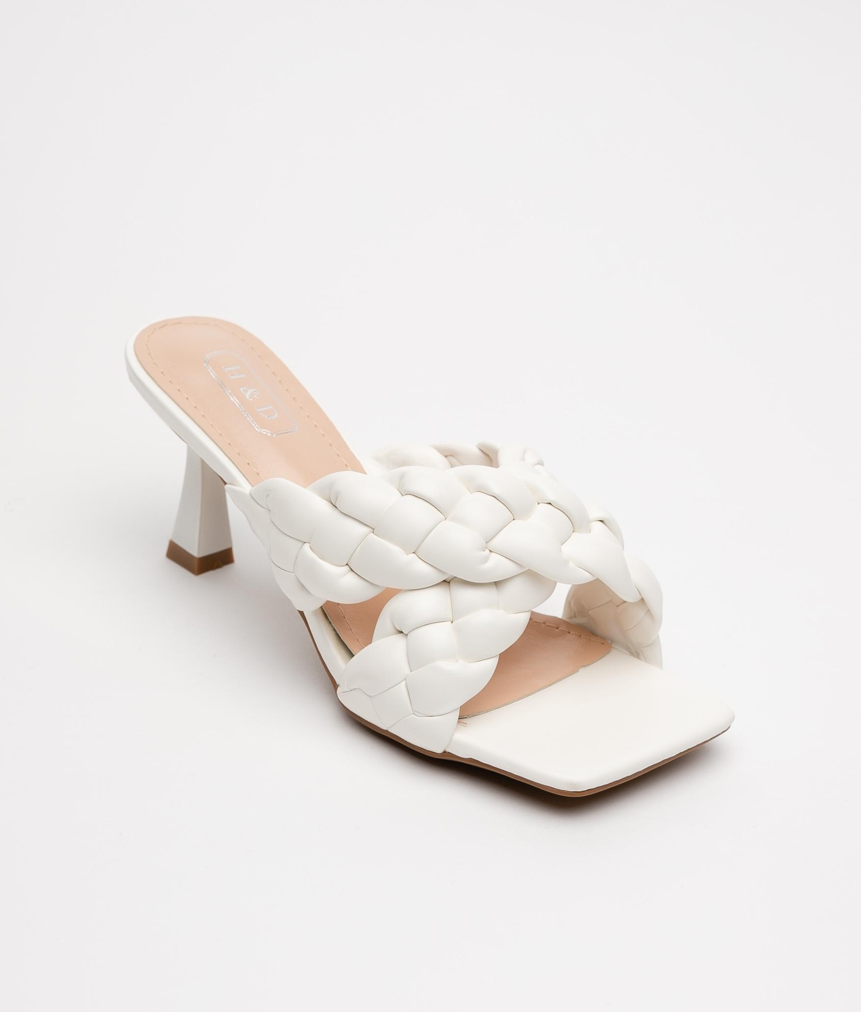 High Sandal Carisa - White