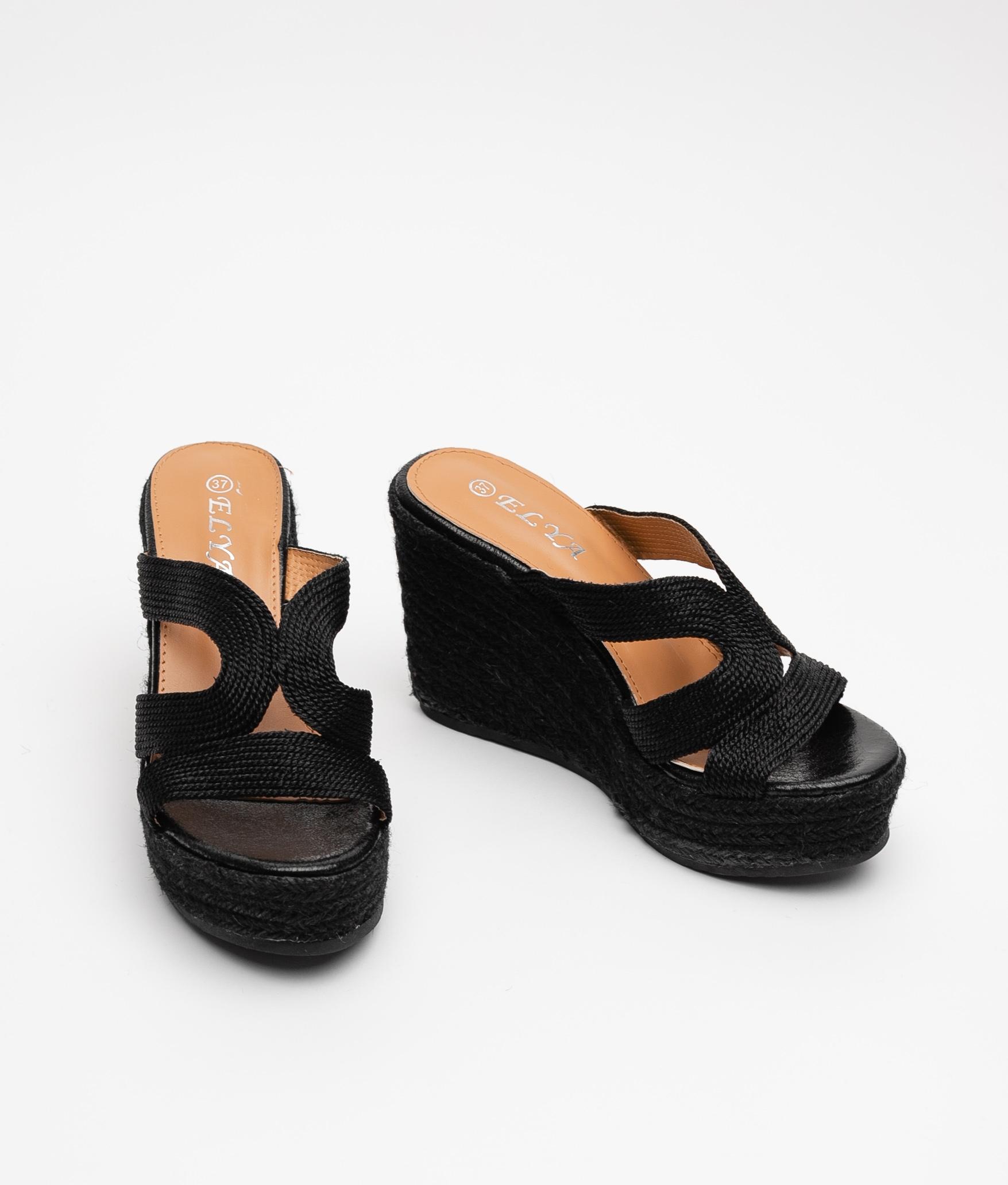 Wedge Heel Nila - Black
