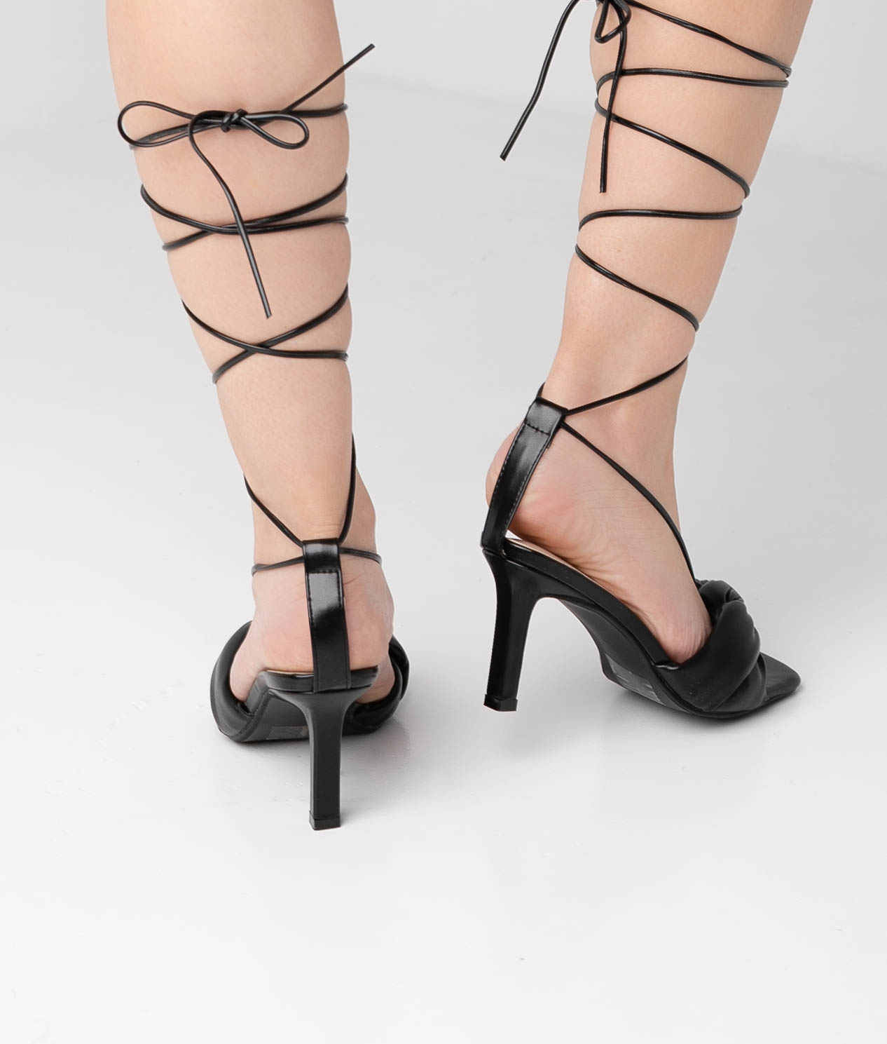 High Sandal Kylie - Black