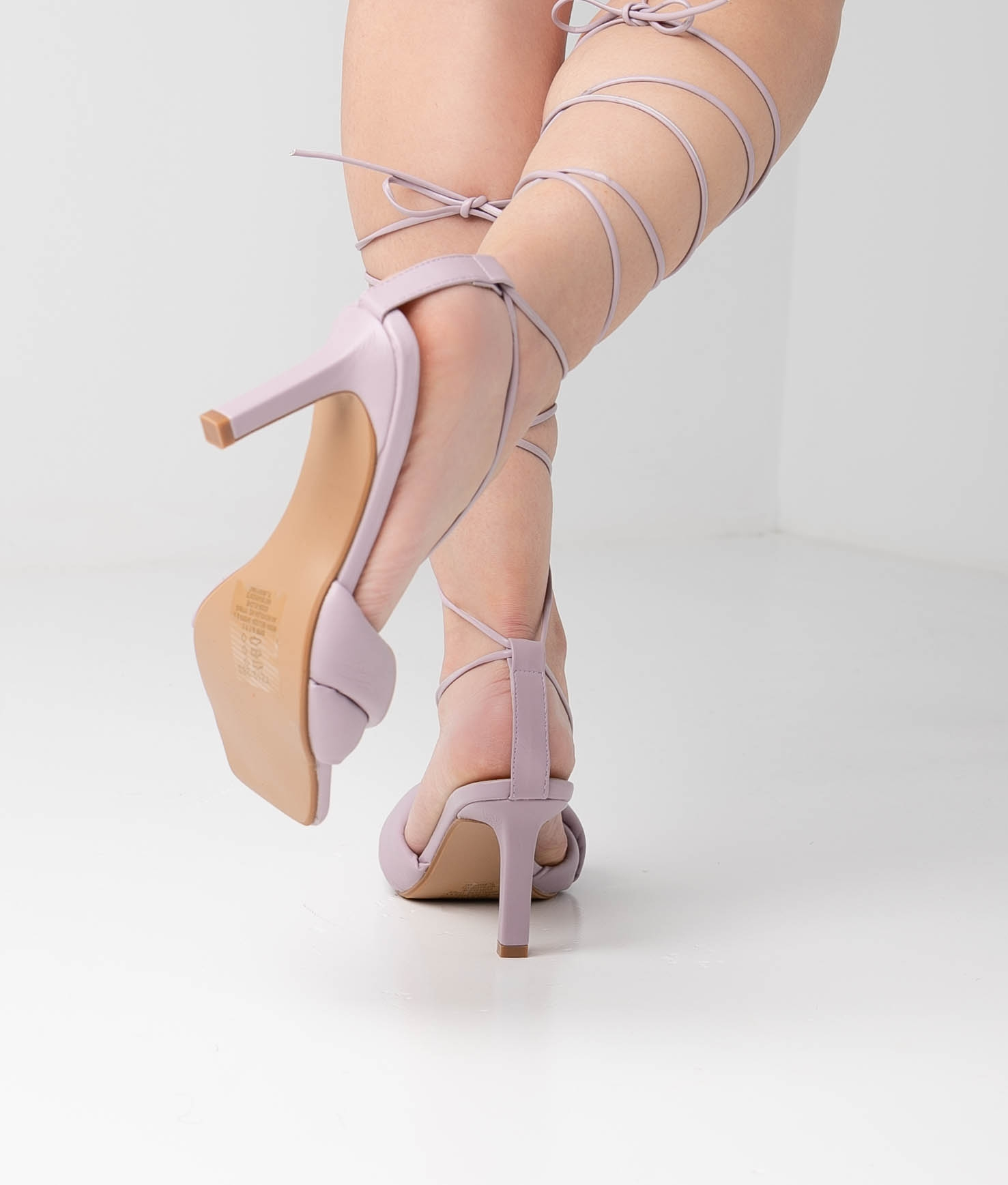 High Sandal Kylie - Purple