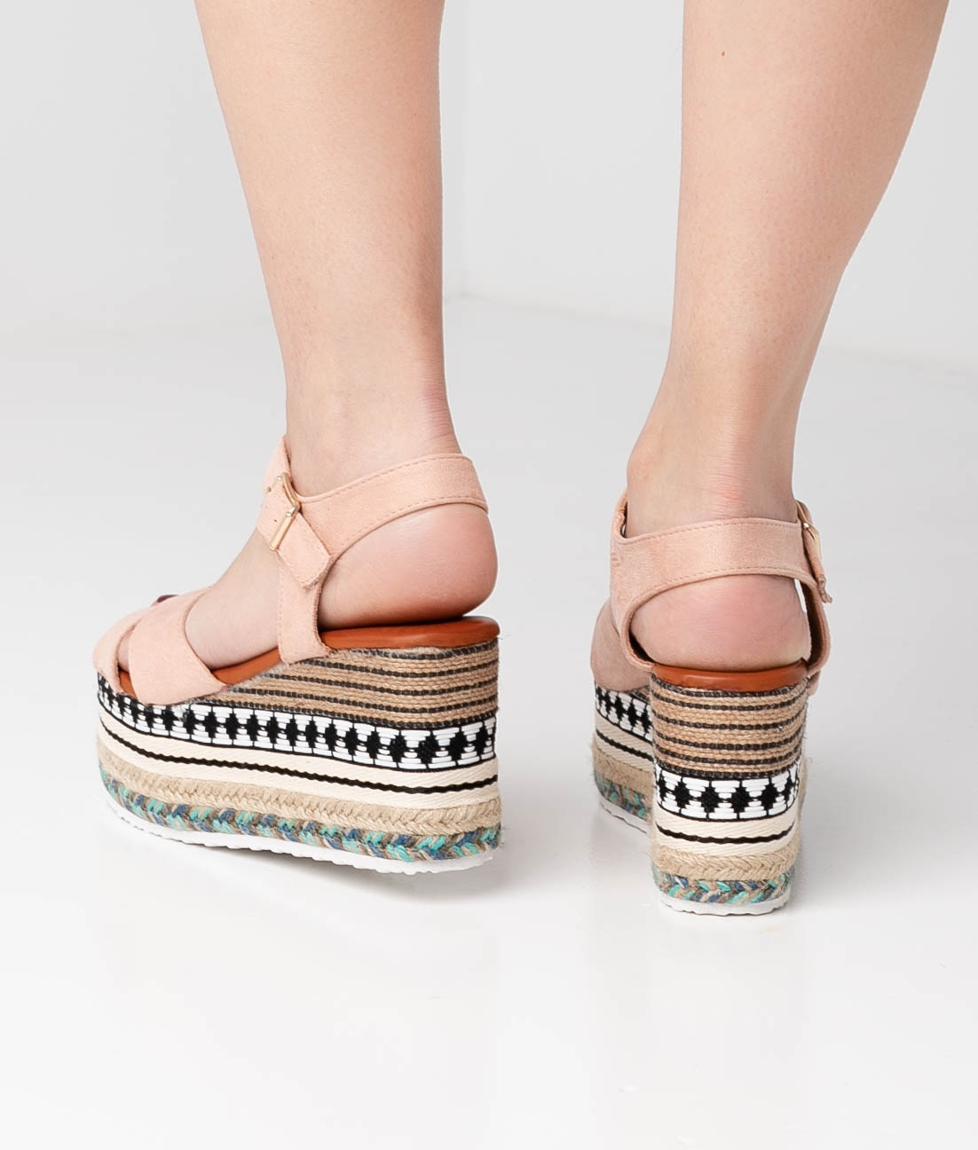 Wedge Heel Quiva - Pink