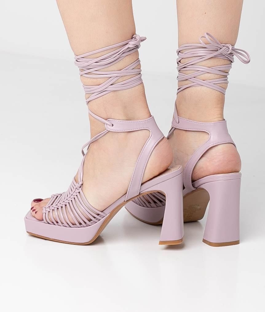 High Sandal Akola - Purple