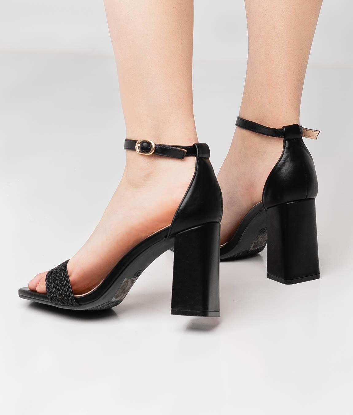 High Sandal Erode - Black