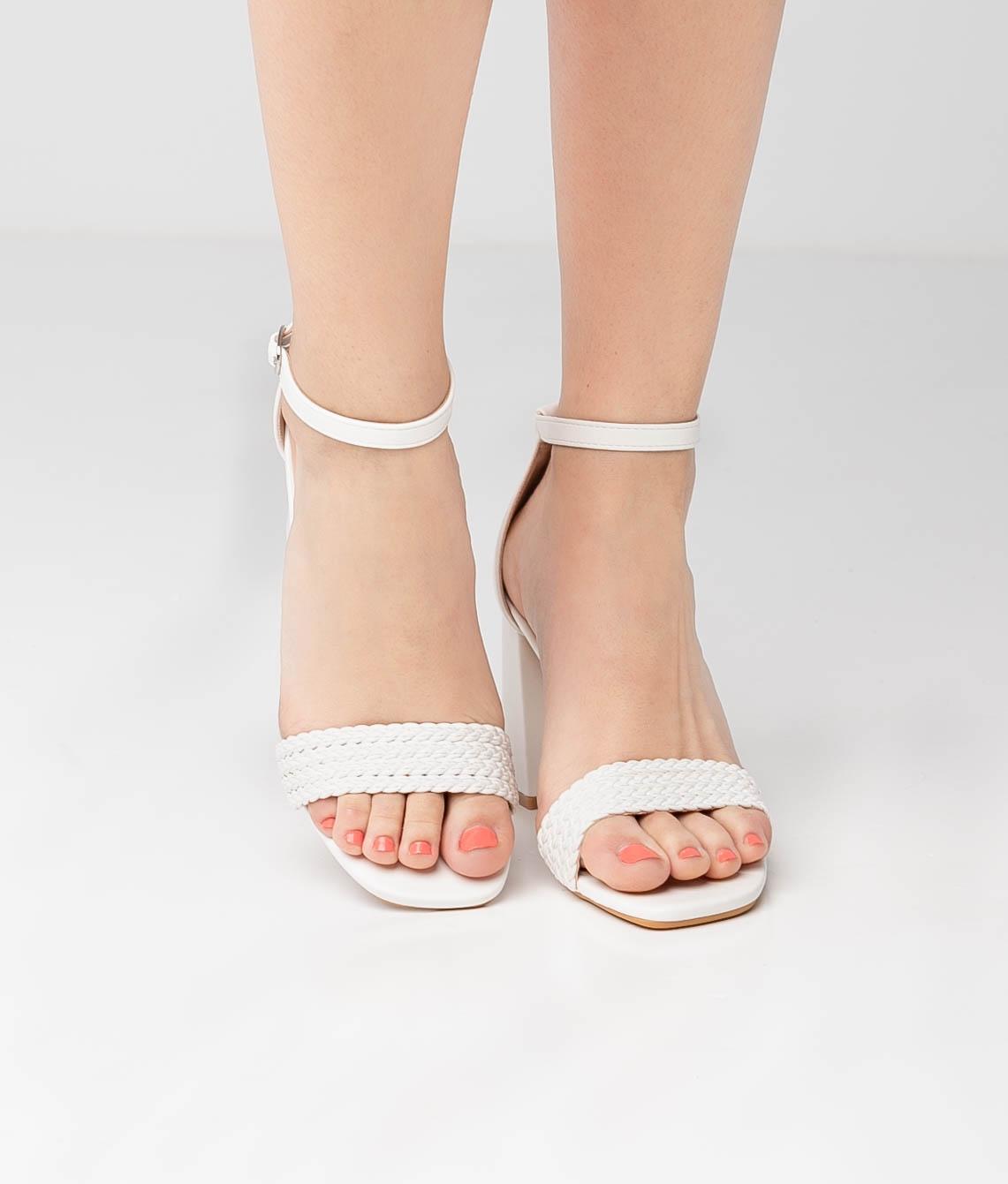 High Sandal Erode - White