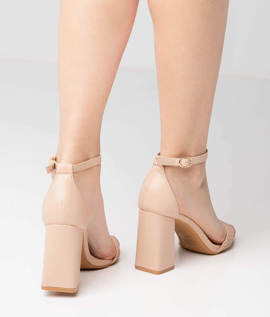 High Sandal Erode - Nude