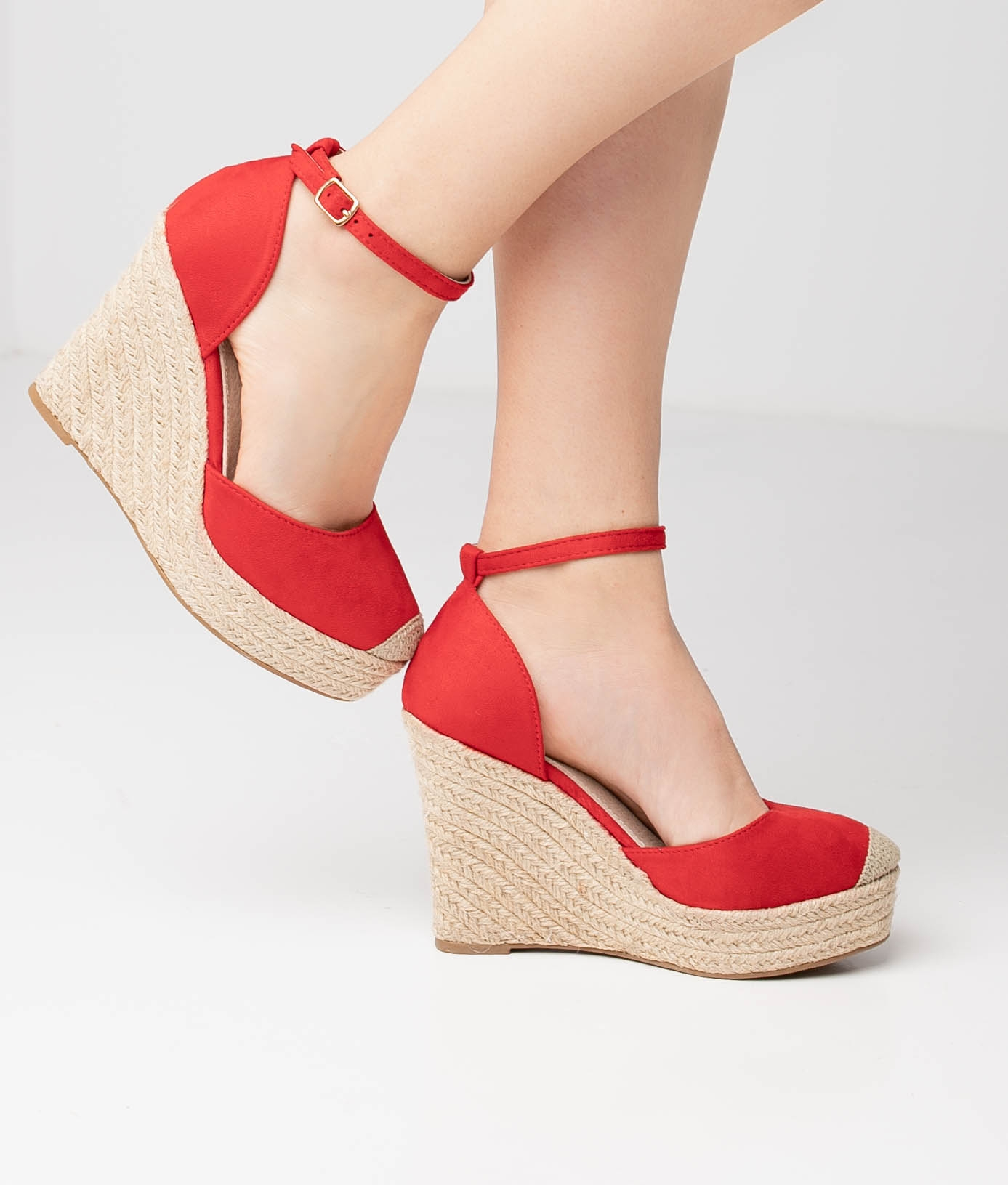 AVADI WEDGE HEEL - RED