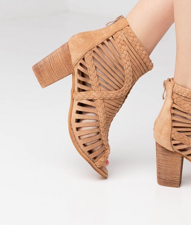 Sandalia de Tacón Satara - Brown
