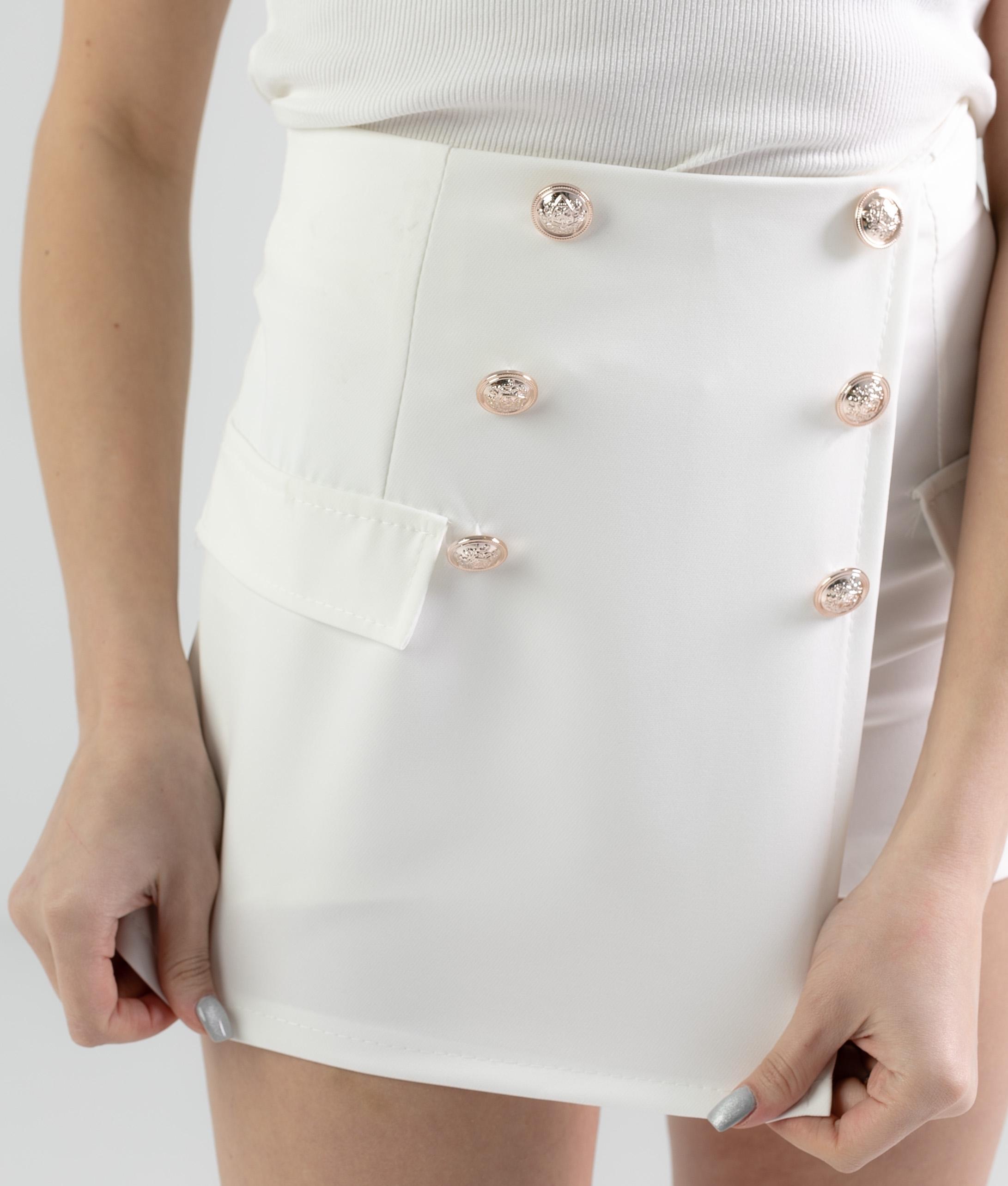 SKIRT PANTS PAREIL - WHITE