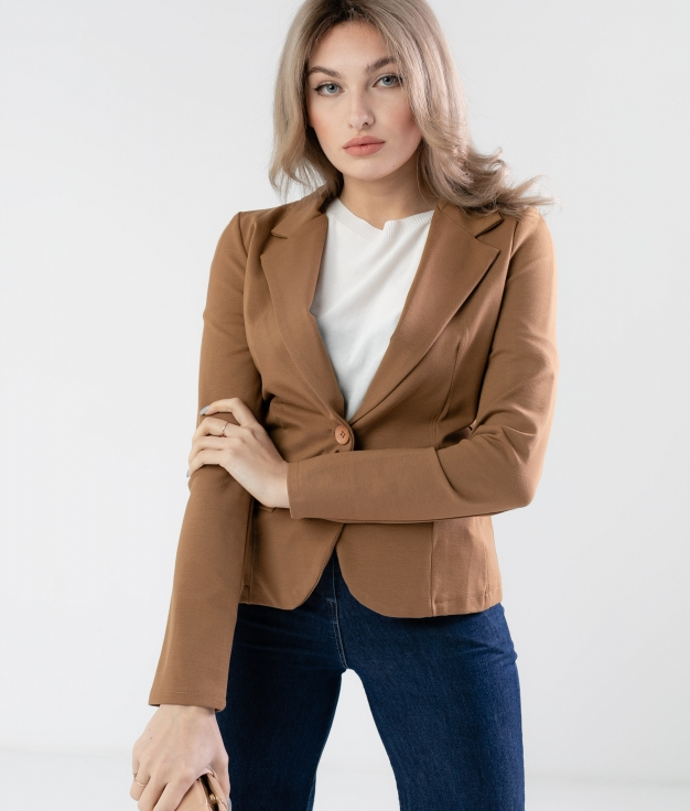 BLAZER MEBER - BROWN