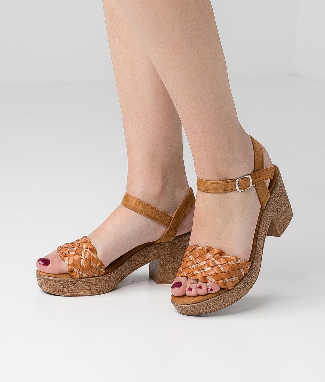 High Sandal Meran - Camel