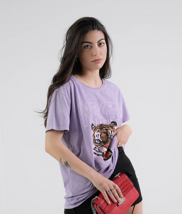 Camiseta Krasi - Lila