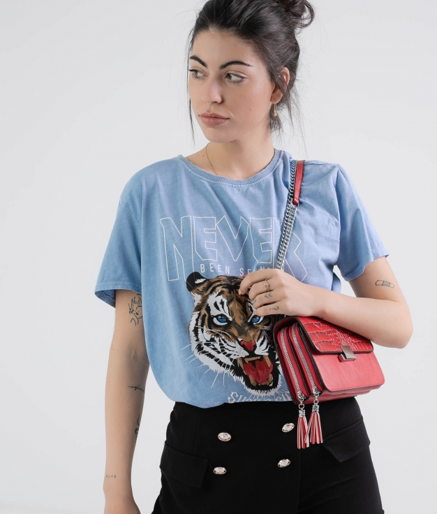 Camiseta Krasi - Azul