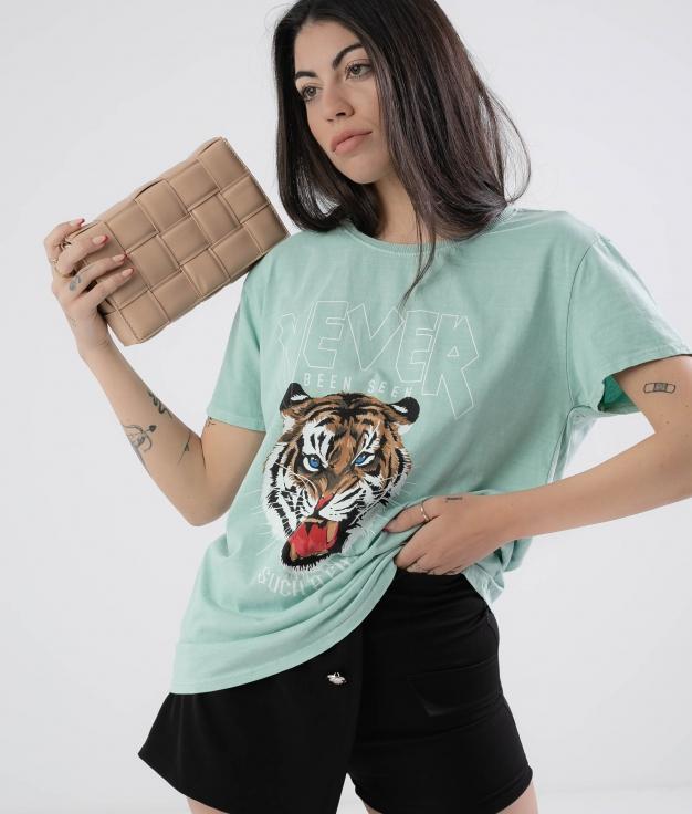 Camiseta Krasi - Verde