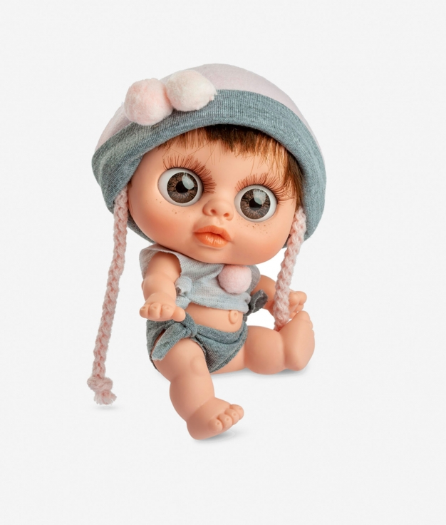 MUÑECO BERJUAN - BABY BIGGER ROSA