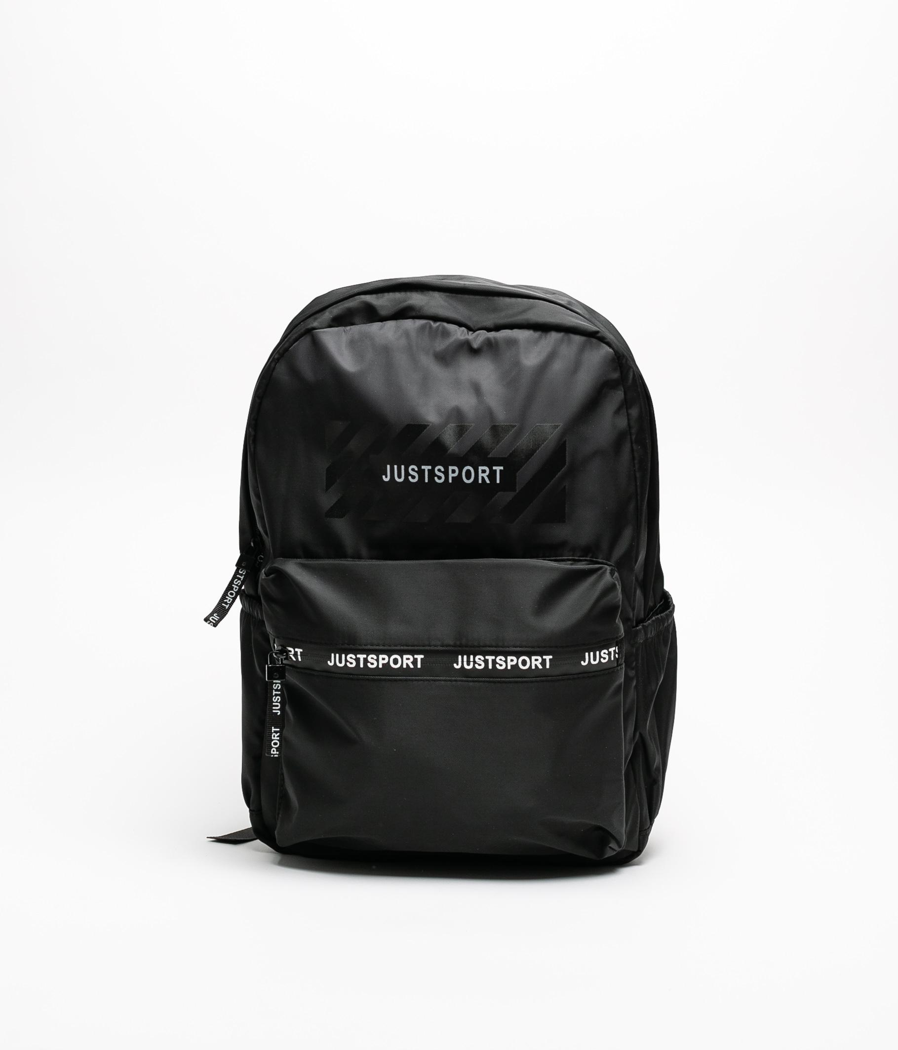 JUSTSPORT BAGPACK - BLACK