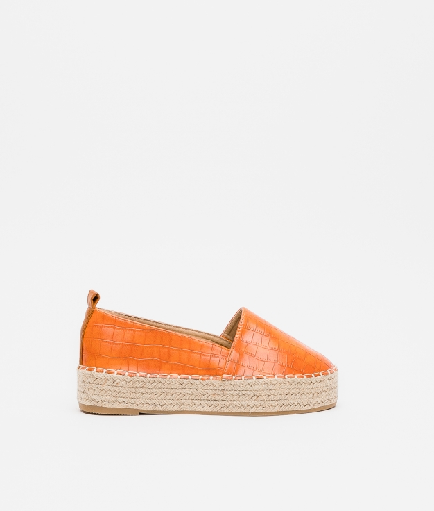 Espadrile Kenke - Orange