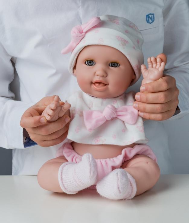 MUÑECA BERJUAN - BABY SUSÚ ROSA
