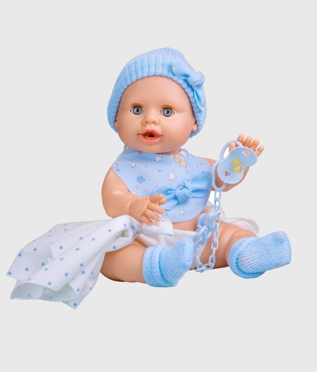 MUÑECA BERJUAN - BABY SUSÚ AZUL