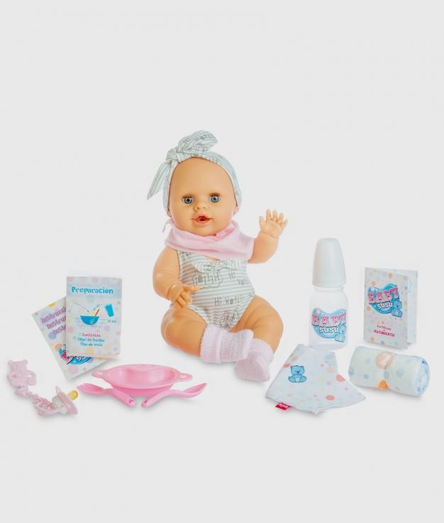 MUÑECA BERJUAN - BABY SUSÚ PUNTO GRIS
