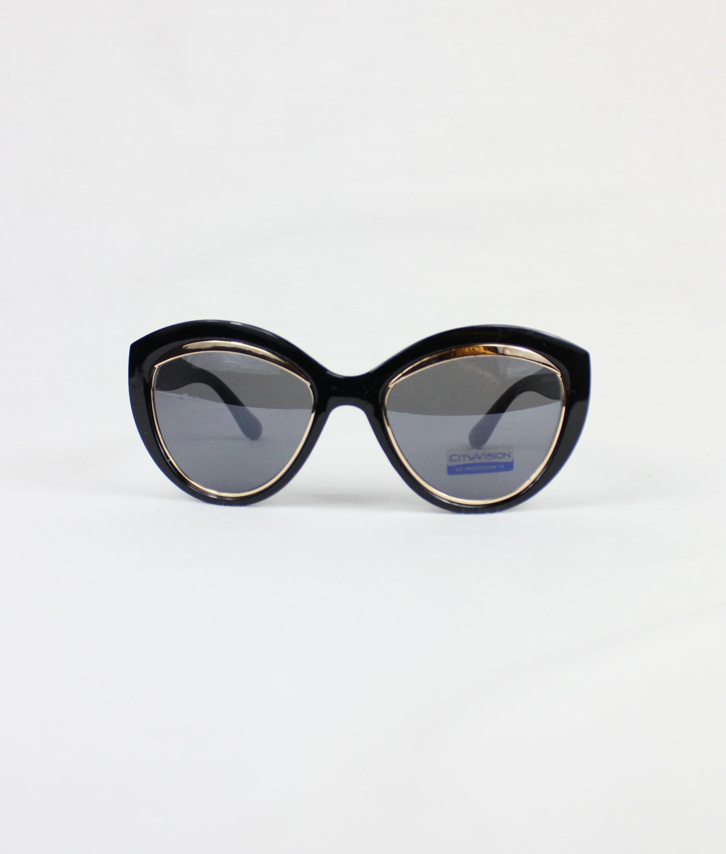 SUNGLASSES FEDORA - BLACK