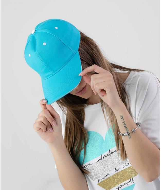 CASQUETTE PANY - TURQUOISE