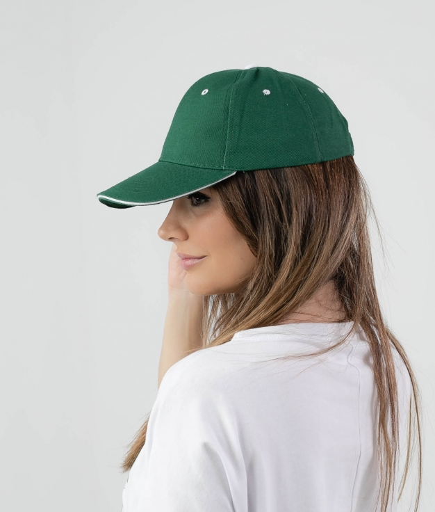 PANY CAP - GREEN DARK