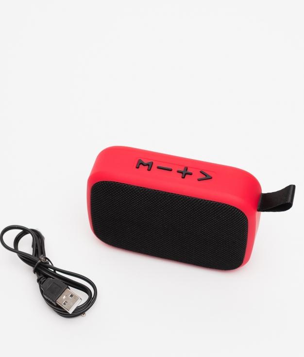 Altavoz Bluetooth Ramin - Rojo