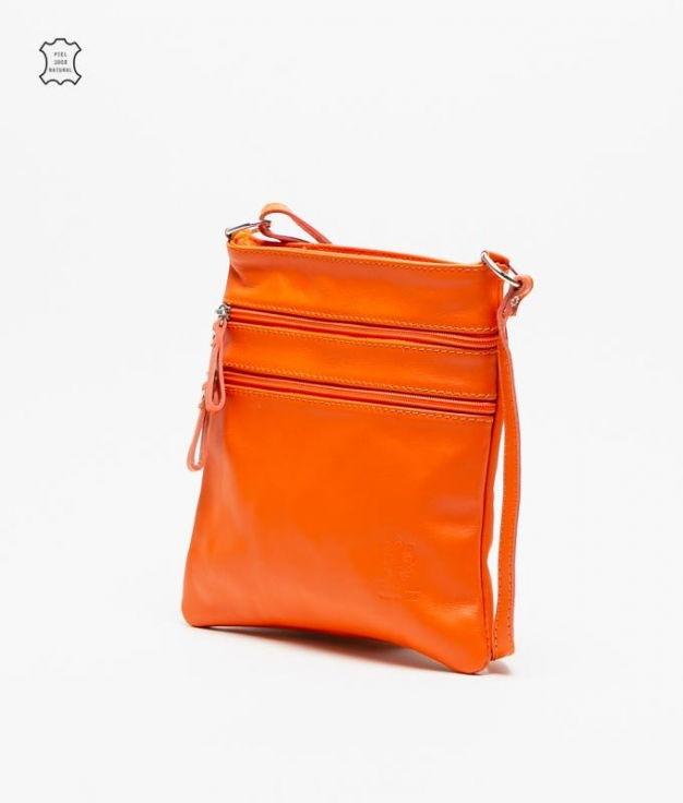 Bolso piel Polo - orange