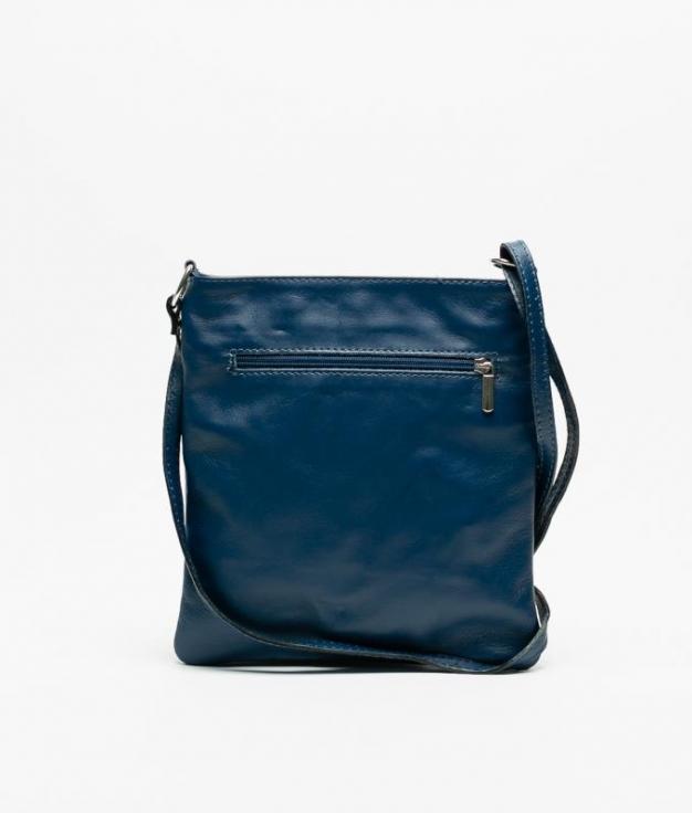 Bolso piel Polo - navy blue
