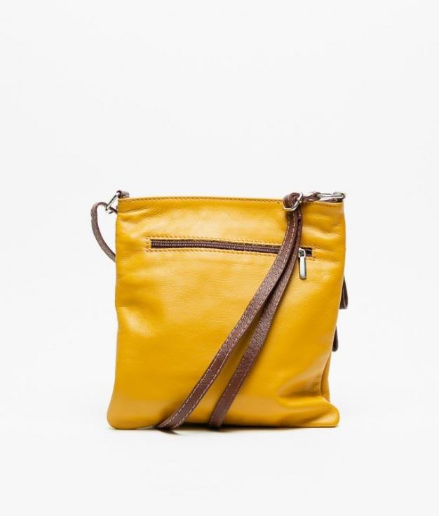 Bolso piel Polo -yellow2