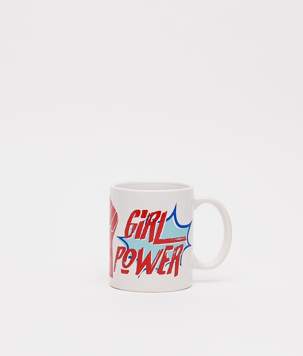 TAZA GIRL POWER - BLANCO