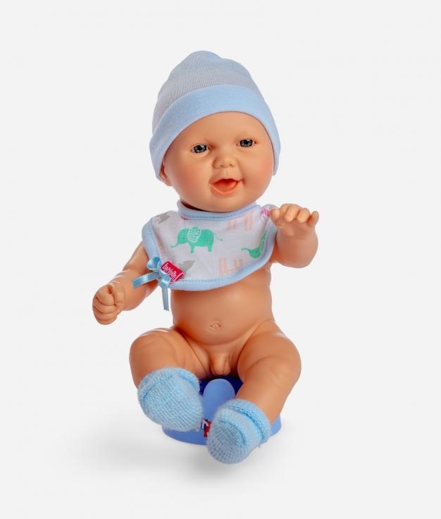 MUÑECO BERJUAN - BABY PIPÍ AZUL