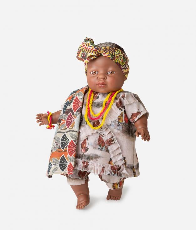 MUÑECA BERJUAN - WORLD NIÑA ÁFRICA