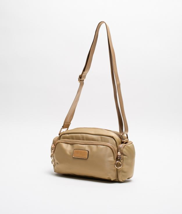 Flavia Shoulder Bag - Apricot