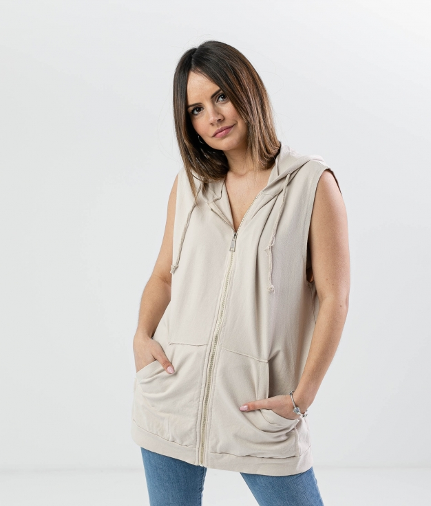 WAITCOAT KOLETO - BEIGE