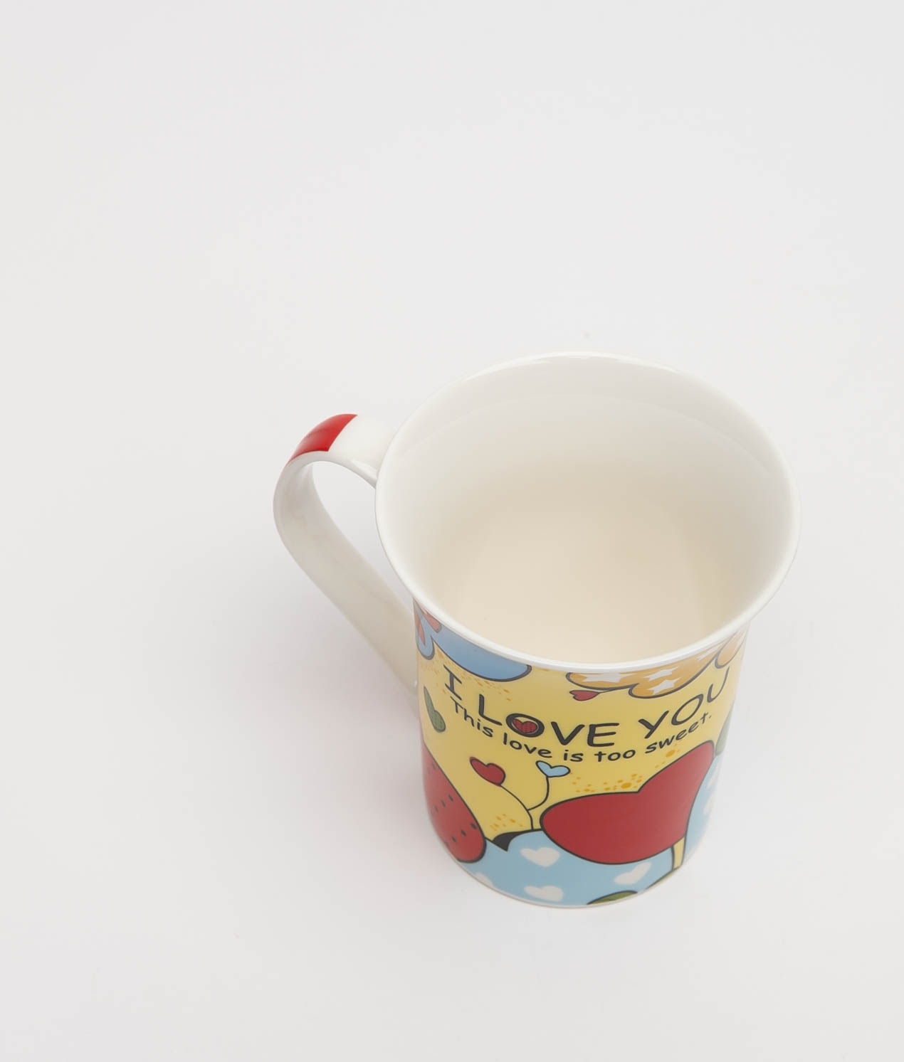 SWEET LOVE CUP - YELLOW/BLUE
