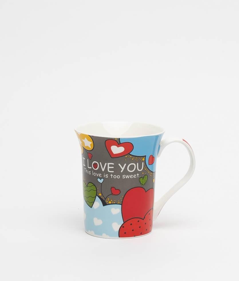 SWEET LOVE CUP - GREY/BLUE