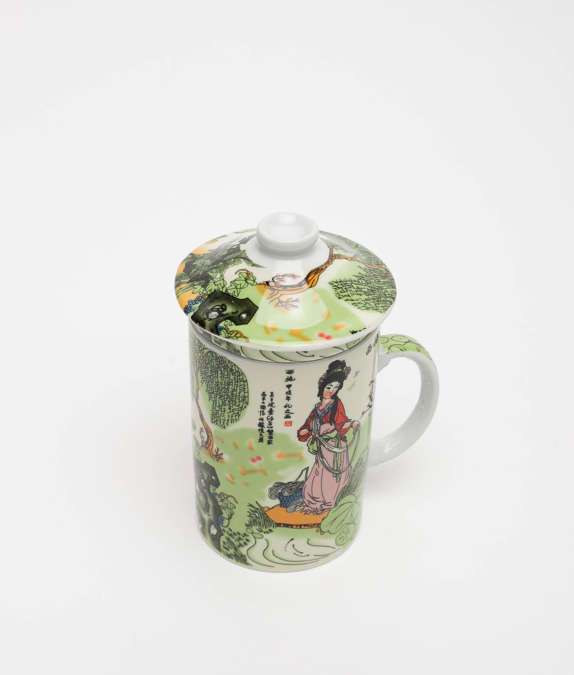 CUP TEA - GEISHA 1