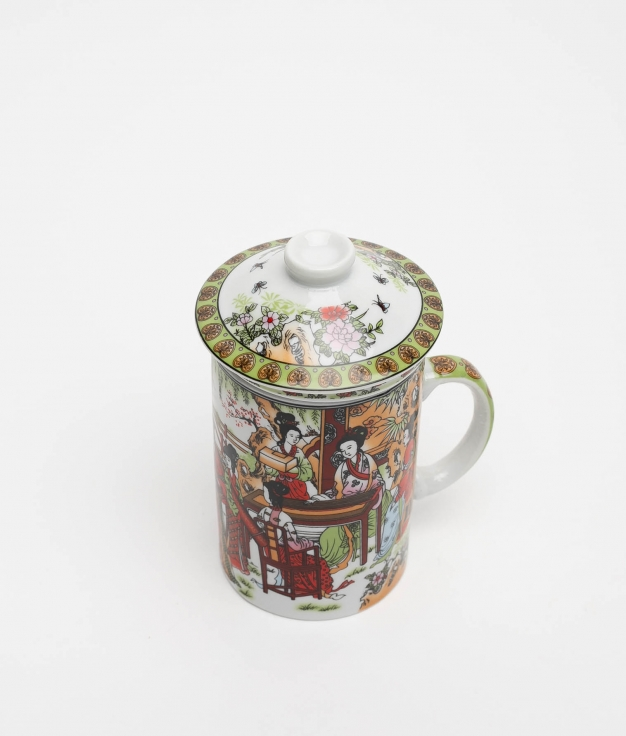 CUP TEA ZALY - RED