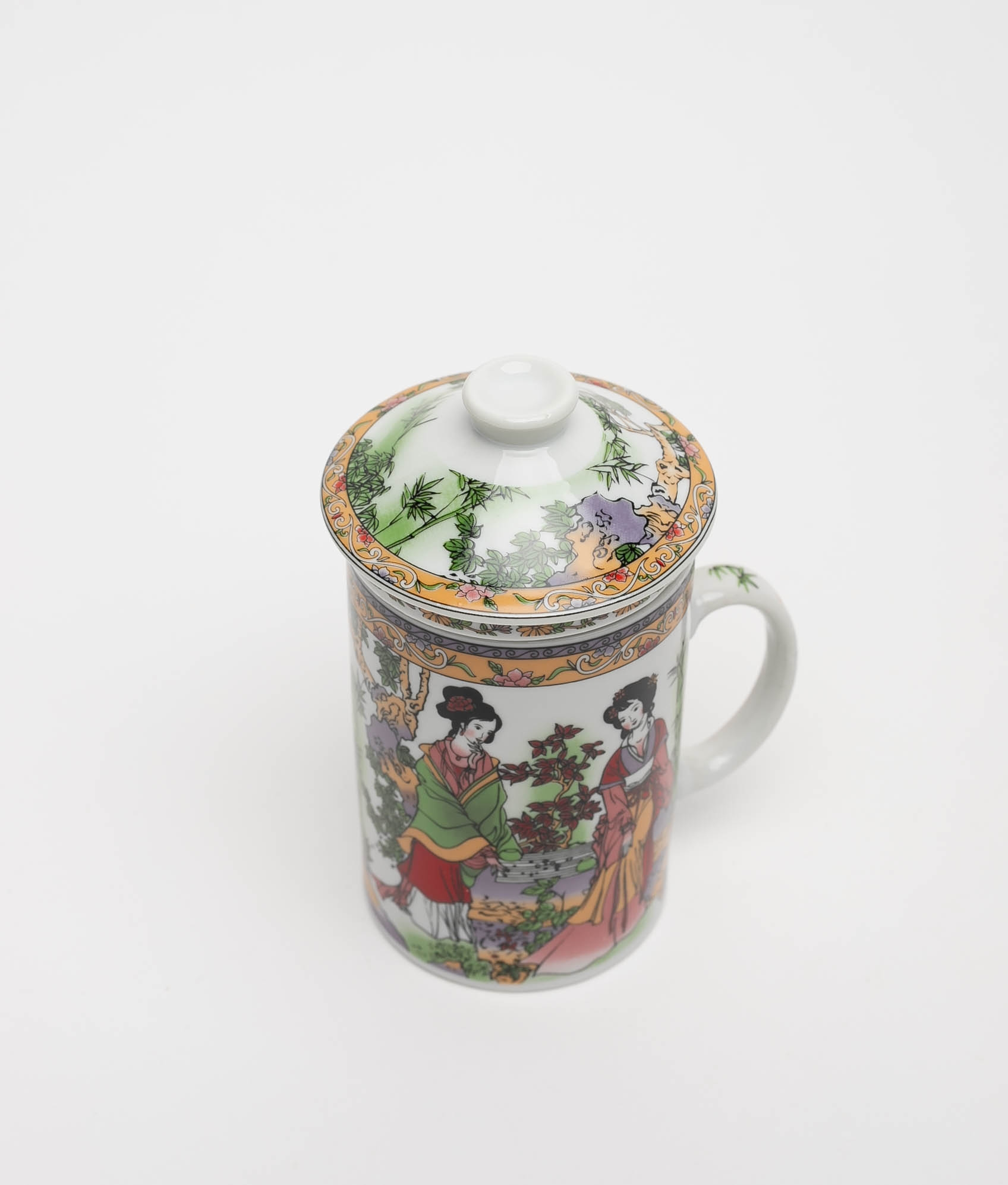 CUP TEA ZALY - YELLOW